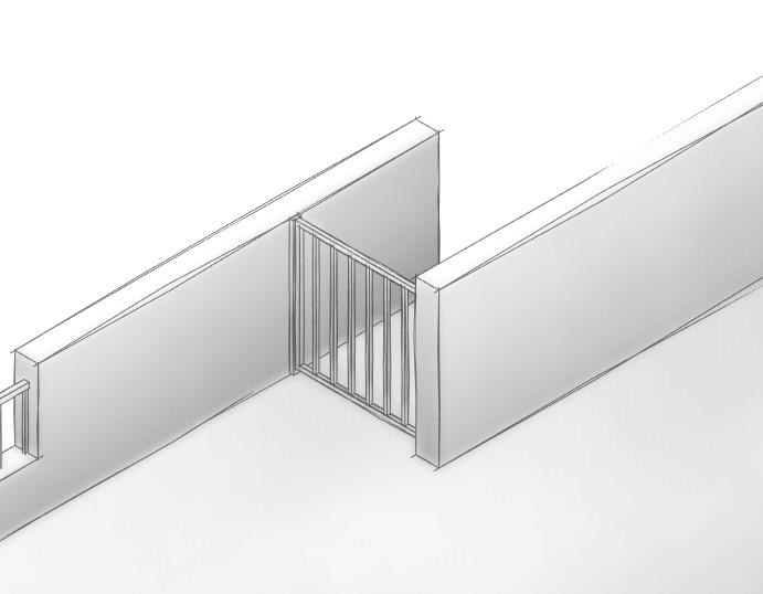 图片[4]-revit族,栅栏门。
