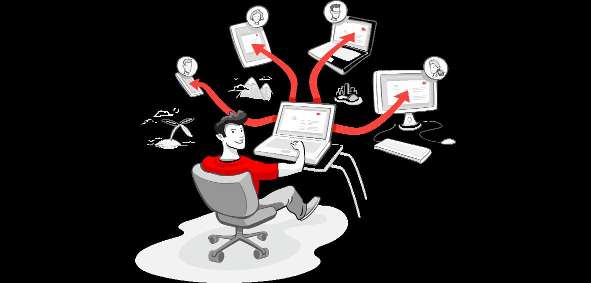 图片[1]-这么多好用的远程桌面软件,再也不怕teamviewer检测说我商业使用了。