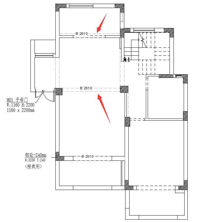 图片[1]-revit怎么在原始平面图中显示梁?-优然创能