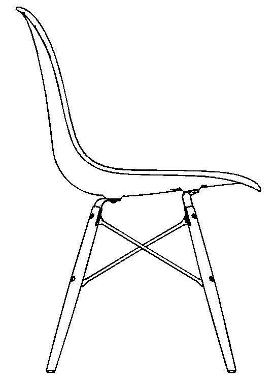 图片[10]-revit家具族,贝壳椅