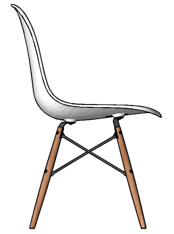 图片[7]-revit家具族,贝壳椅