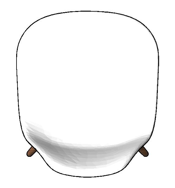图片[5]-revit家具族,贝壳椅