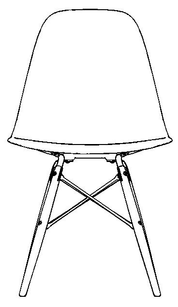 图片[9]-revit家具族,贝壳椅